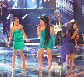 Naia Kete Long Hair On NBC's The Voice 2012