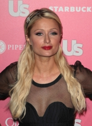 Paris Hilton Long Platinum Blonde Hair With Headband