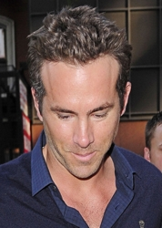 Ryan Reynolds With Spiked Hair