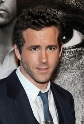 Ryan Reynolds With Longer Tousled Hair