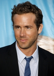 Ryan Reynolds With Tousled And Spiked Hair
