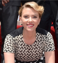 Scarlett Johansson with Retro Hairstyle