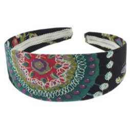 Fabric Covered U Shaped Headband