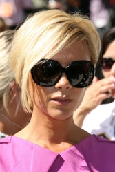 Victoria Beckham in Short Blonde Bob
