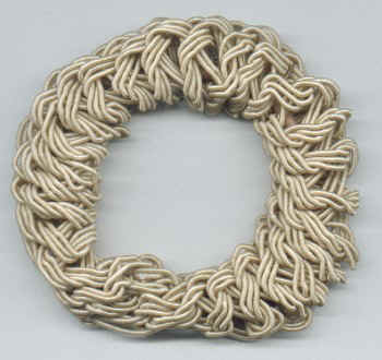 Smoothies - Metal Free Rope Pony - Blond