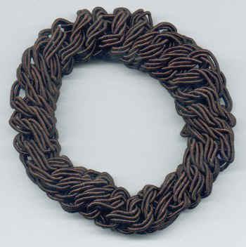 Smoothies - Metal Free Rope Pony - Brown