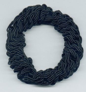 Smoothies - Metal Free Rope Pony - Black
