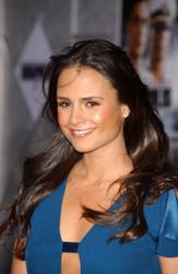 Jordana Brewster With Shiny Long Brunette Hair