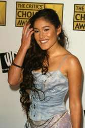 Q'Orianka Kilcher With Long Brown Hair