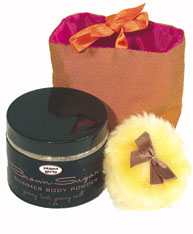 Jaqua Girl's - Brown Sugar Shimmer Body Powder -  1 oz