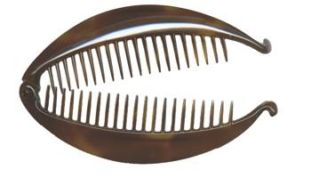 Camila - Banana Lock Comb - Tort