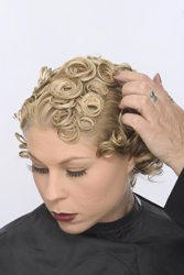 Creating Pin Curls On Short Hair Hairboutique Articles