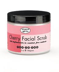 Jaqua Girl's - Cherry Facial Scrub - 4 oz