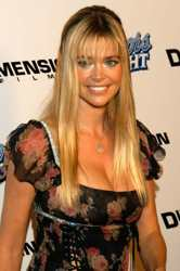 Denise Richards With Long Blonde Hair