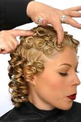 Creating pin curls detailed steps creating pin curls urmus Gallery