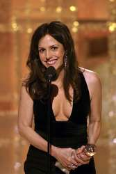 Mary Louise Parker at the 2004 Golden Globe Awards