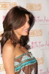 Eva Longoria with long loose sassy hair