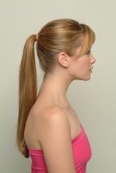 Barrel Curls - Ponytail
