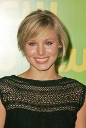 Untacksa Kristen Bell Short Hair