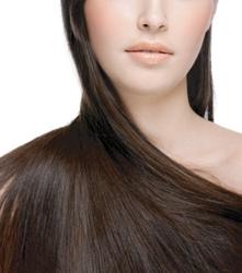 Long Brunette Healthy Shiny Hair